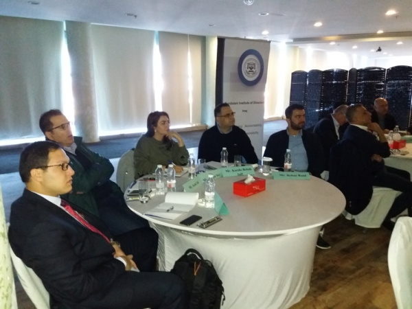 Principle of Corporate Governance Training Course - in Sulaimaniya / December